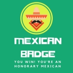 mexican badge