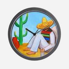 mexican_siesta_wall_clock